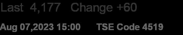 TSE Code 4519